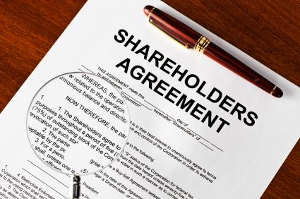 Shareholder agreement legal contract