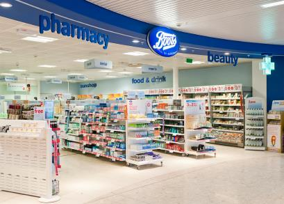 Boots pharmacy drugstore healthcare retail