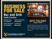 Bar And Grill In South carolina For Sale